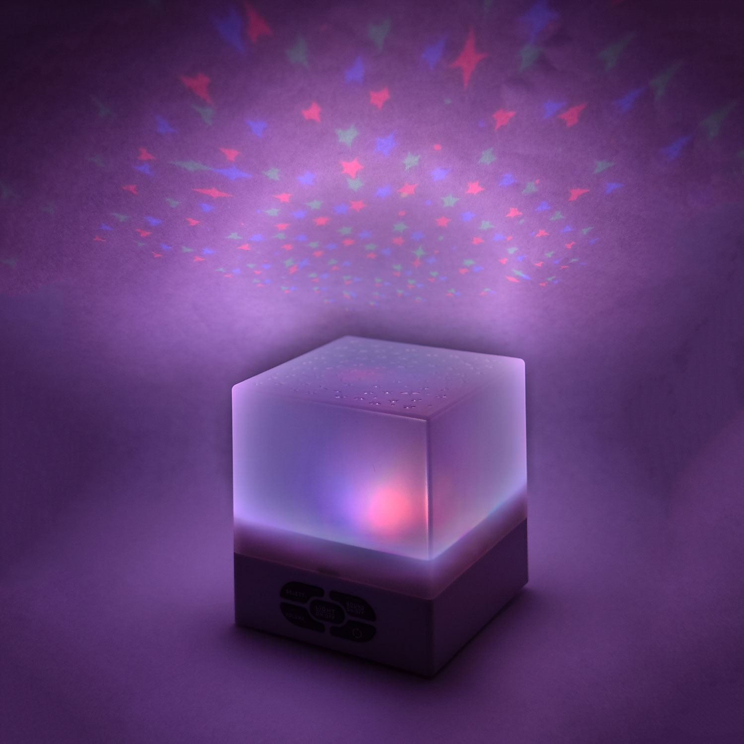 Lifemax 1227 Lullaby Star Cube Projector Lullaby Stars